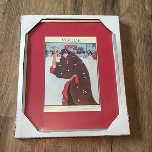 Vintage Vogue Cover Framed